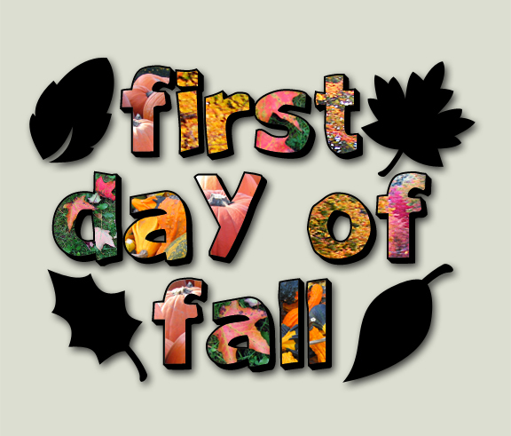free first day of autumn clipart - photo #5
